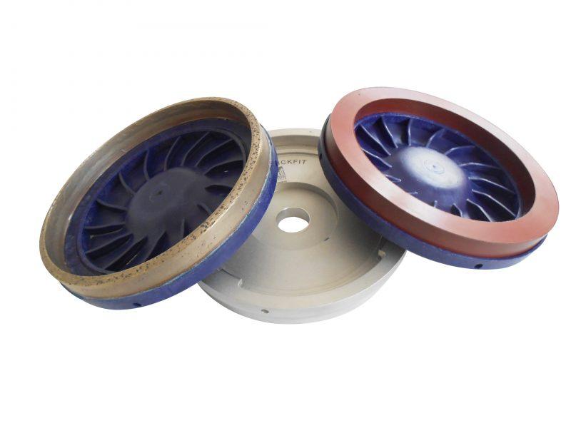 Sistema di fissaggio Click-Fit di Bovone Diamond Tools