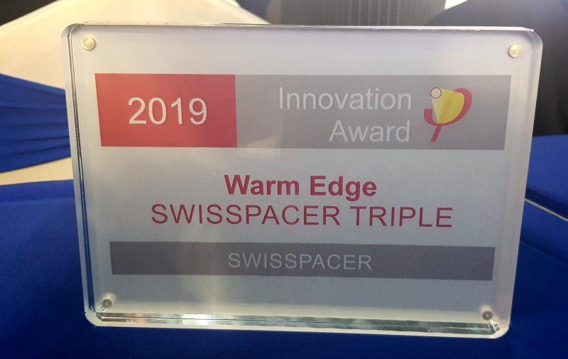 "Premio ""Passive House Innovation Award"" per Swisspacer"