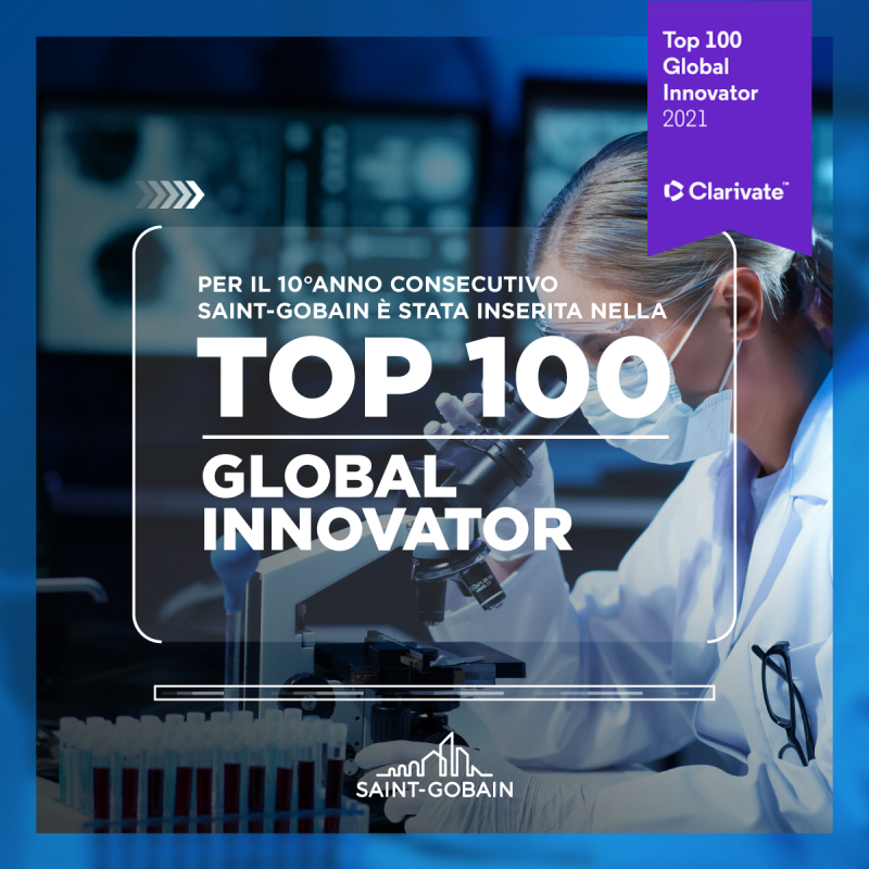 Saint-Gobain tra le 100 imprese più innovative al mondo