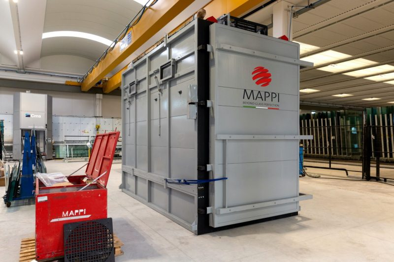 Tecnoglass sceglie Mappi per l'apparecchiatura di collaudo HST